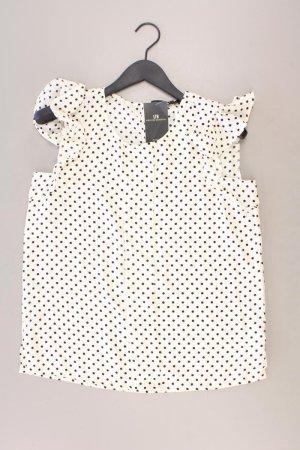 LTB Ärmellose Bluse Größe L gepunktet neu mit Etikett weiß aus Polyester