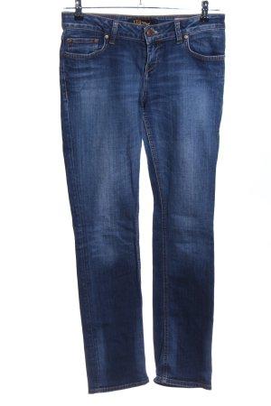 LTB Boot Cut Jeans blau Casual-Look