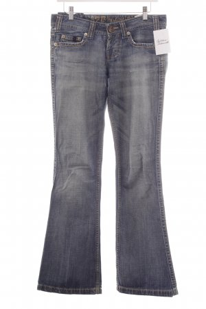 LTB Boot Cut Jeans steel blue casual look