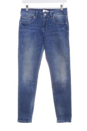 LTB Jeansy typu boyfriend stalowy niebieski W stylu casual