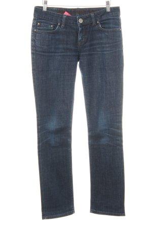 LTB by Littlebig Slim Jeans dunkelblau Used-Optik