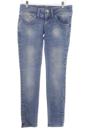 LTB by Littlebig Slim Jeans kornblumenblau-himmelblau Street-Fashion-Look