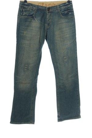 LTB by Littlebig Straight-Leg Jeans blau Casual-Look