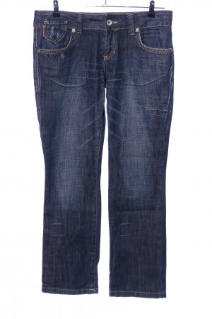 LTB by Littlebig Straight-Leg Jeans blau Casual-Look
