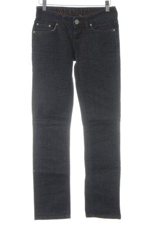 LTB by Littlebig Straight-Leg Jeans dunkelblau-braun Casual-Look
