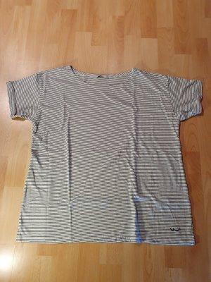 LTB Maglietta a righe bianco-nero