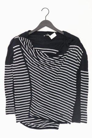 LTB gestreifter Cardigan Größe M schwarz aus Viskose