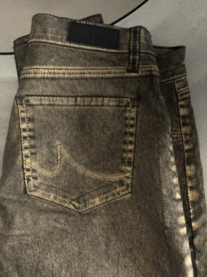 LTB Carrot Jeans black-gold-colored