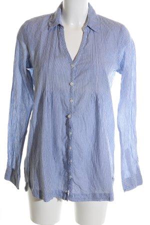 LTB Hemd-Bluse weiß Streifenmuster Casual-Look