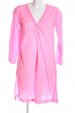 LTB Hemdblusenkleid pink Casual-Look