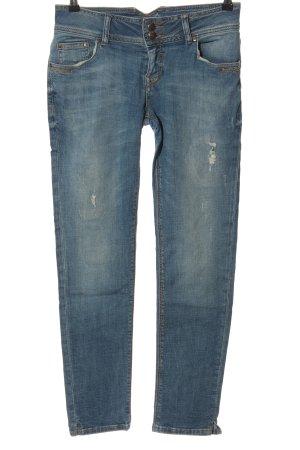 LTB High Waist Jeans blau Casual-Look