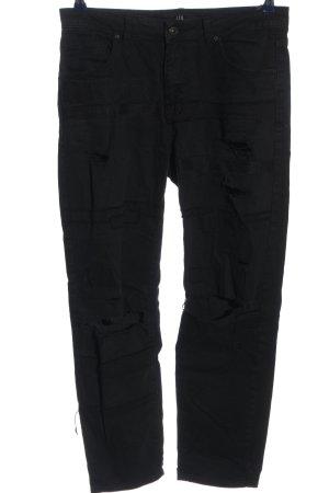 LTB High Waist Jeans schwarz Casual-Look
