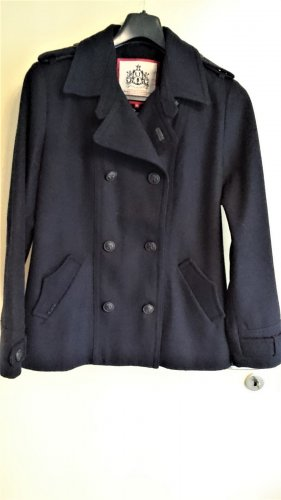 LTB JEANS Chaqueta estilo naval azul oscuro lana de alpaca