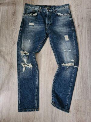 LTB Drainpipe Trousers blue