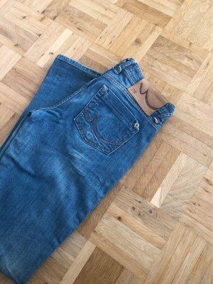 LTB Jeans a gamba dritta azzurro-blu neon