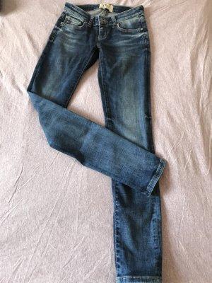 LTB Jeansy biodrówki niebieski
