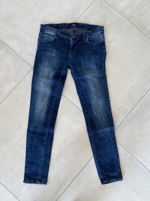 LTB Jeans taille basse bleu