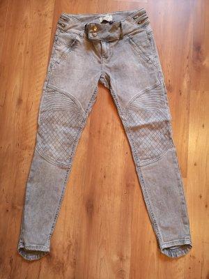LTB JEANS Jeans slim argenté-gris clair
