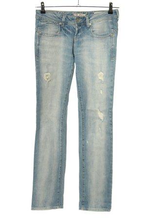 LTB JEANS Straight-Leg Jeans blau Casual-Look