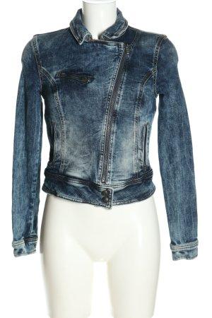 LTB Jeansjacke blau meliert Casual-Look