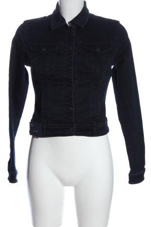LTB Denim Jacket dark blue casual look