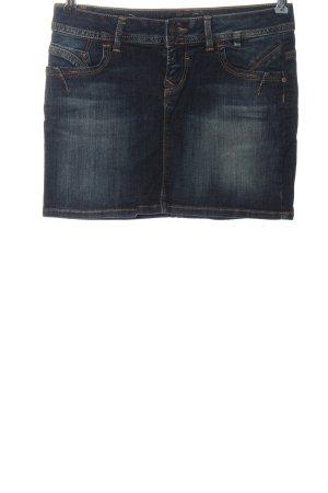 LTB Denim Skirt blue casual look