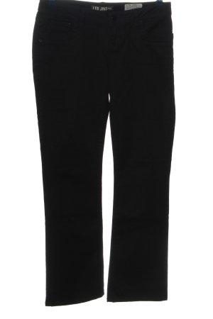 LTB Straight-Leg Jeans schwarz Casual-Look