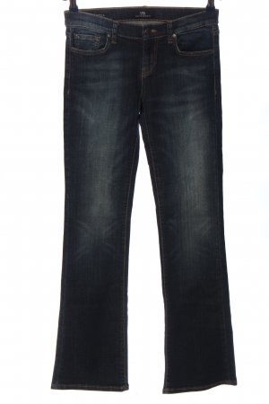 LTB Jeansschlaghose blau Casual-Look