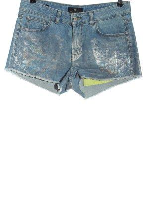 LTB Jeansowe szorty niebieski Ekstrawagancki styl