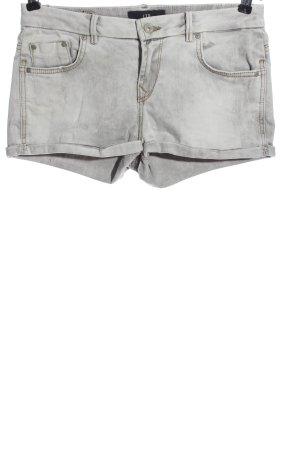 LTB Pantaloncino di jeans grigio chiaro stile casual