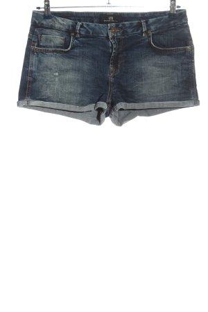 LTB Pantalón corto de tela vaquera azul look casual