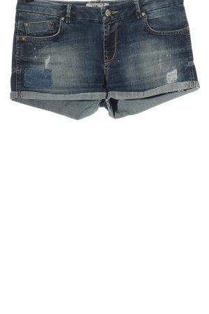 LTB Jeansowe szorty niebieski W stylu casual