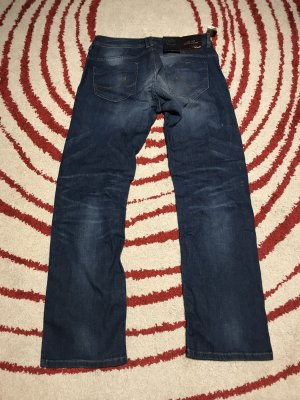 LTB Jeans taille basse bleu acier