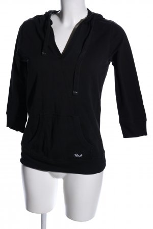 LTB Sudadera con capucha negro look casual