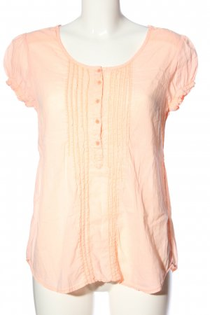 LTB Kurzarm-Bluse pink Casual-Look