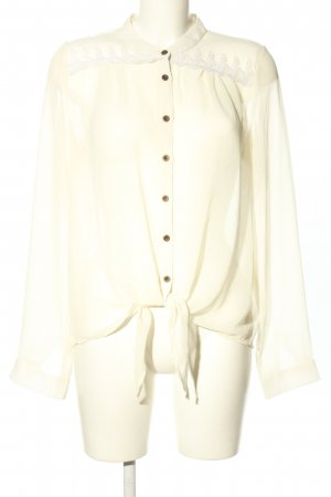 LTB Langarm-Bluse creme Business-Look