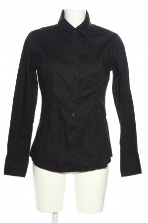 LTB Langarm-Bluse schwarz Business-Look
