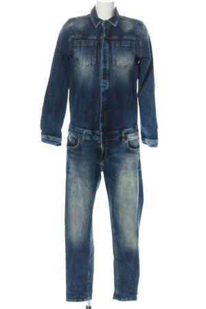 LTB Langer Jumpsuit blu stile casual