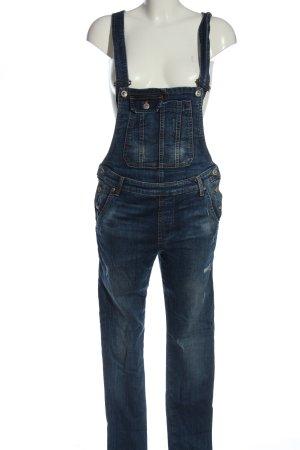 LTB Salopette en jeans bleu style décontracté