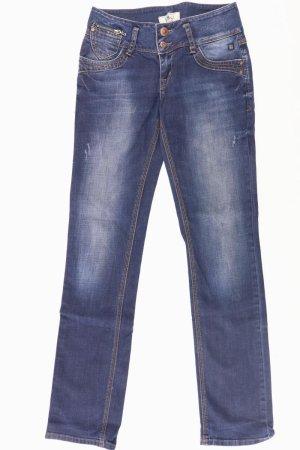 LTB Low Rise Straight Jeans blau Größe W28