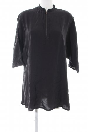 LTB Oversized Bluse schwarz Casual-Look