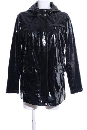 LTB Regenjas zwart casual uitstraling
