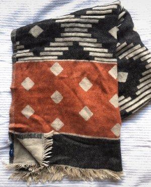 LTB Gebreide sjaal veelkleurig