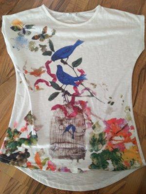 LTB Shirt Vögelchen 36 Boho Hippie Verträumt Romantisch