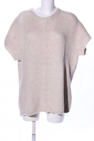 LTB Shirtkleid wollweiß Zopfmuster Casual-Look