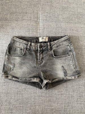 LTB Shorts Jeans jeansshorts hotpants grau Größe Xxs