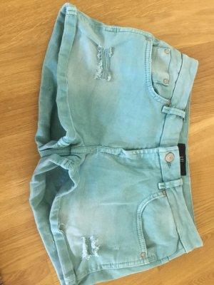 LTB JEANS Denim Shorts cadet blue cotton