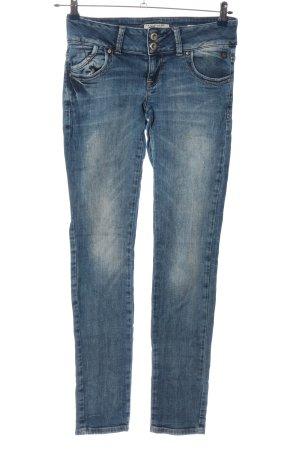 LTB Skinny Jeans blau Farbverlauf Casual-Look