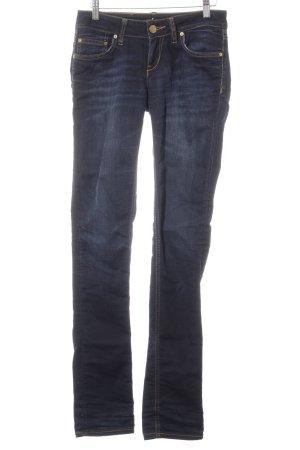 LTB Skinny Jeans dunkelblau Street-Fashion-Look