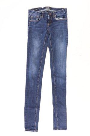 LTB Jeans skinny blu-blu neon-blu scuro-azzurro Cotone